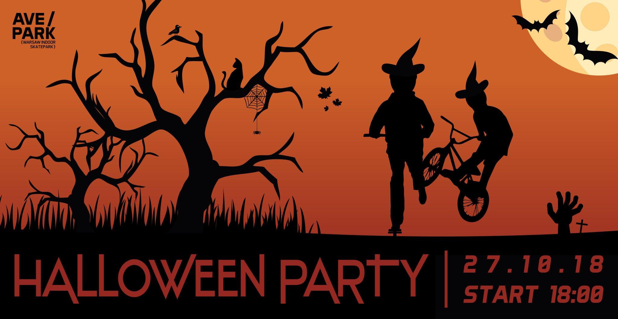 Halloween Party na AvePark - 27/10/2018