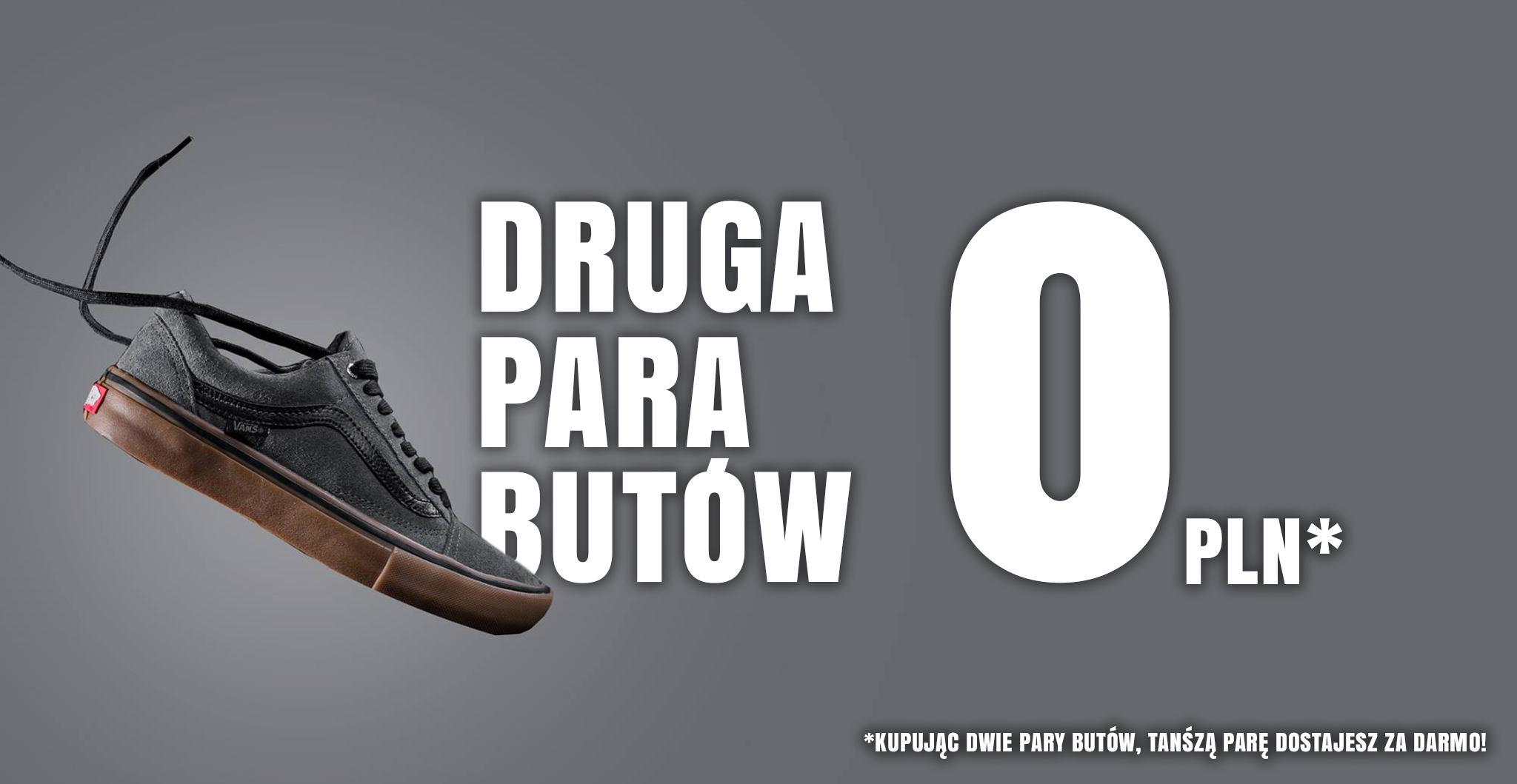 Promocja: druga para butów gratis!