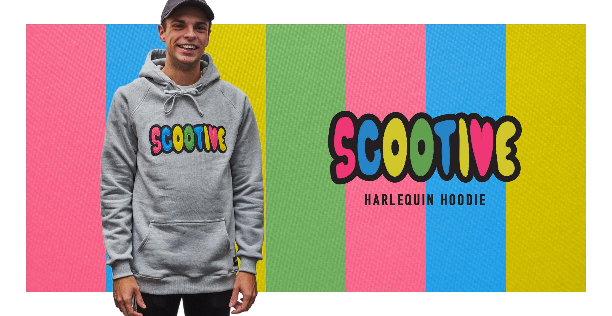 Scootive News: BLUZA SCOOTIVE HARLEQUIN